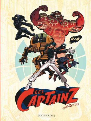 Couverture de l'album Les Captainz - 1. Tome 1