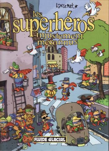 Couverture de l'album Les superhéros injustement méconnus (One-shot)
