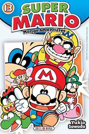 Couverture de l'album Super Mario - Manga Adventures - 13. Tome 13