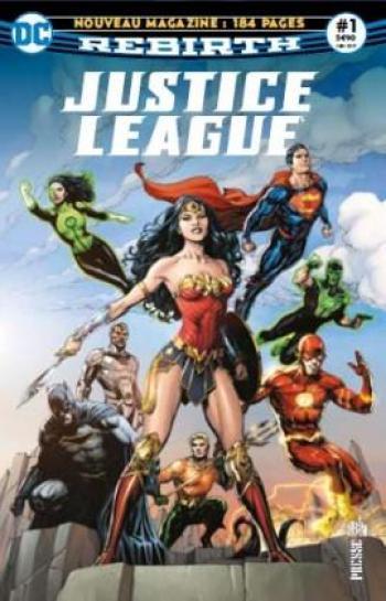 Couverture de l'album Justice League Rebirth (Urban Presse) - 1. La ligue de Justice accueille de nouveaux membres !