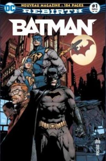 Couverture de l'album Batman Rebirth (Urban Presse) - 1. Le retour de Batman !