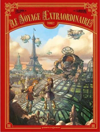 Couverture de l'album Le Voyage extraordinaire - 2. Le trophée Jules Verne II
