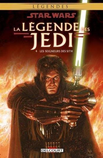 Couverture de l'album Star Wars - La Légende des Jedi - 4. Les Seigneurs des Sith