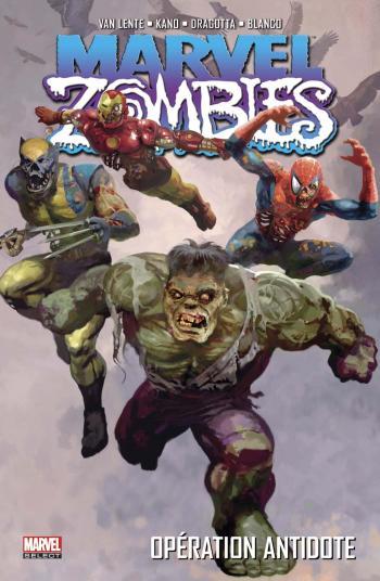 Couverture de l'album Marvel Zombies (Marvel Deluxe) - 3. Opération antidote