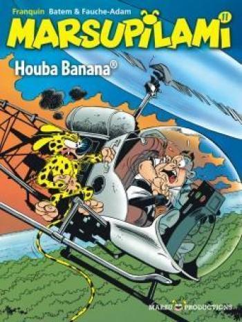 Couverture de l'album Marsupilami - 11. Houba Banana