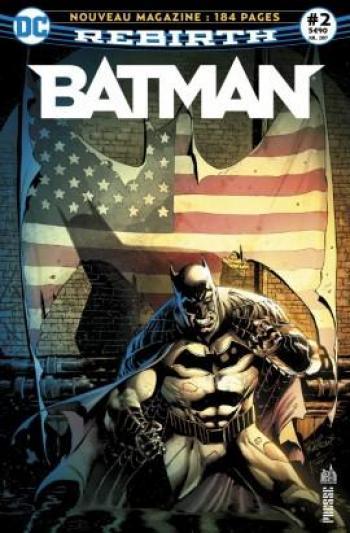 Couverture de l'album Batman Rebirth (Urban Presse) - 2. Deux surhommes protègent Gotham City !