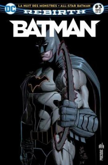 Couverture de l'album Batman Rebirth (Urban Presse) - 3. Les monstres attaquent Gotham !