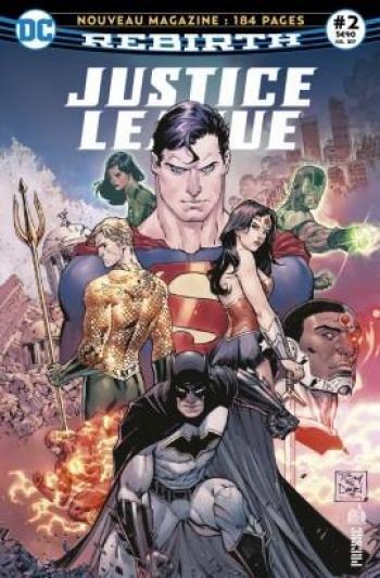 Couverture de l'album Justice League Rebirth (Urban Presse) - 2. Doomsday arrive en ville !