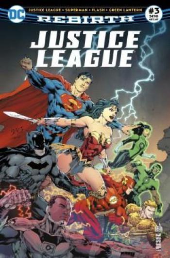 Couverture de l'album Justice League Rebirth (Urban Presse) - 3. La terre menacée d'invasion !