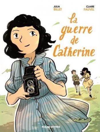 Couverture de l'album La Guerre de Catherine (One-shot)