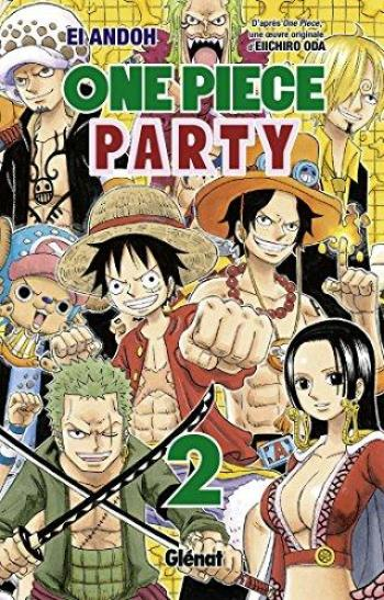 Couverture de l'album One Piece Party - 2. Tome 2