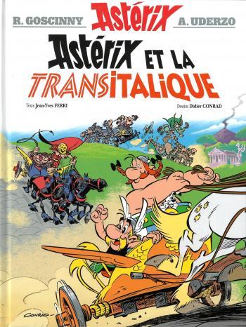 Couverture de l'album Astérix - 37. Astérix et la Transitalique