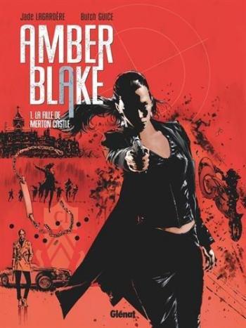 Couverture de l'album Amber Blake - 1. La Fille de Merton Castle