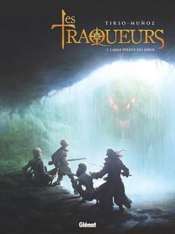 Couverture de l'album Les Traqueurs - 1. L'Arme perdue des dieux