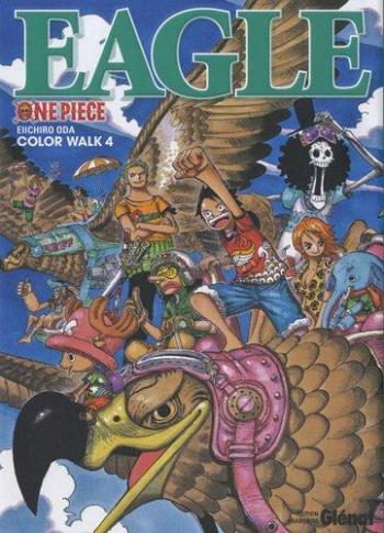 Couverture de l'album One Piece - Color Walk - 4. Eagle