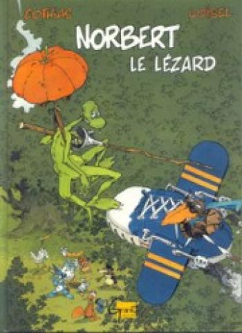 Couverture de l'album Norbert Le Lezard (One-shot)