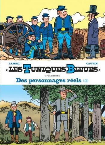 Couverture de l'album Les Tuniques bleues présentent - 8. Des personnages réels 2/2