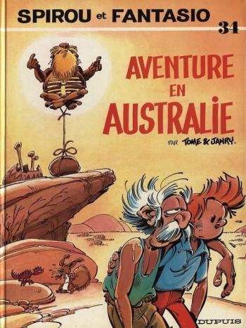 Couverture de l'album Spirou et Fantasio - 34. Aventure en Australie