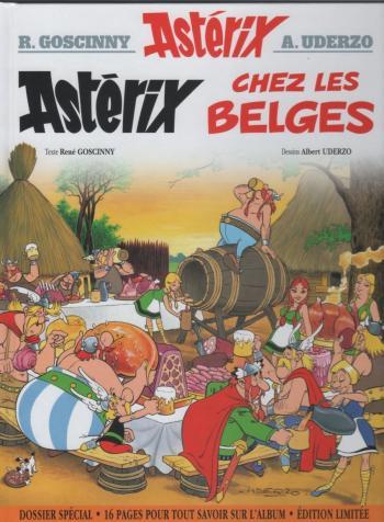 Couverture de l'album Astérix - 24. Astérix chez les Belges