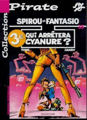 Couverture de l'album Spirou et Fantasio - 35. Qui arrêtera Cyanure ?