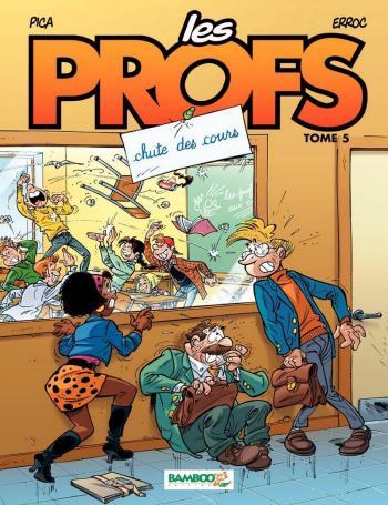 Couverture de l'album Les Profs - 5. Chute des cours