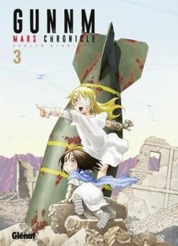 Couverture de l'album Gunnm - Mars Chronicle - 3. Gunnm Mars Chronicle - Tome 3