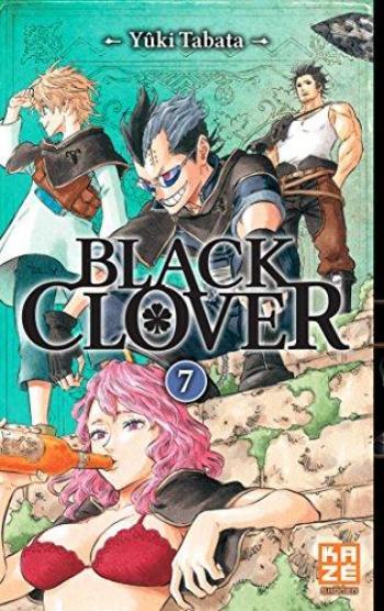 Couverture de l'album Black Clover - 7. Tome 7