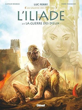 Couverture de l'album L'Iliade - 2. La Guerre des dieux
