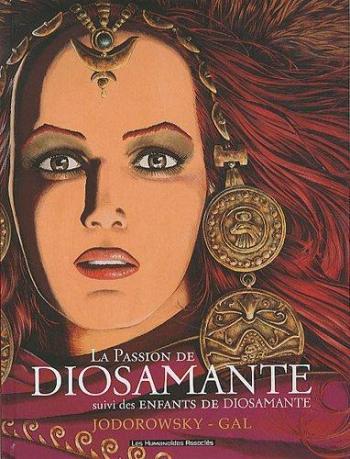 Couverture de l'album La Passion de Diosamante (One-shot)