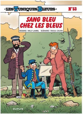 Couverture de l'album Les Tuniques bleues - 53. Sang Bleu Chez Les Bleus