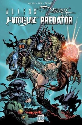 Couverture de l'album Aliens Darkness Witchblade Predator (One-shot)