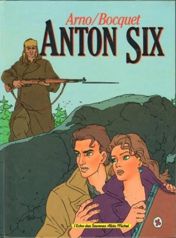 Couverture de l'album Anton Six (One-shot)