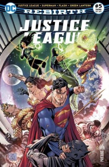 Couverture de l'album Justice League Rebirth (Urban Presse) - 5. Metropolis est envahie de surhommes !