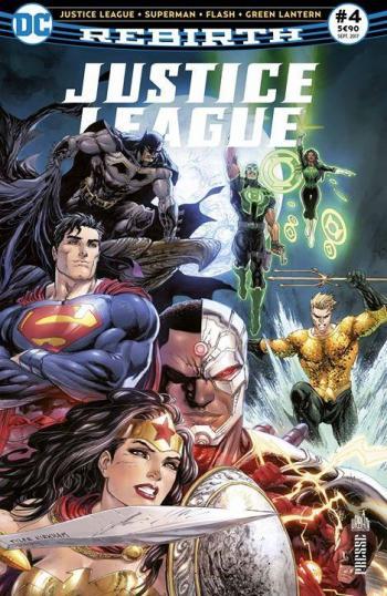 Couverture de l'album Justice League Rebirth (Urban Presse) - 4. La terreur règne !