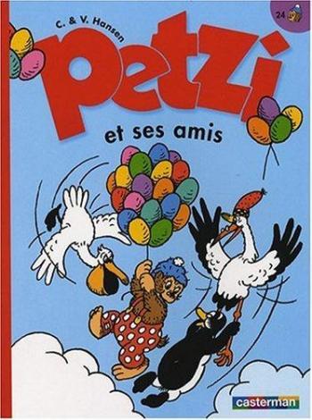 Couverture de l'album Petzi (Deuxième série) - 24. Petzi et ses amis