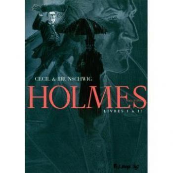Couverture de l'album Holmes (1854/1891 ?) - COF. Holmes - Coffret Tome 1 et Tome 2