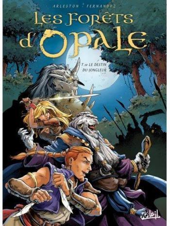 Couverture de l'album Les Forêts d'Opale - 10. Le Destin du jongleur