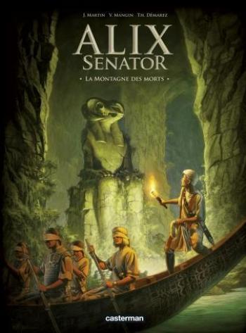 Couverture de l'album Alix Senator - 6. la Montagne des Morts