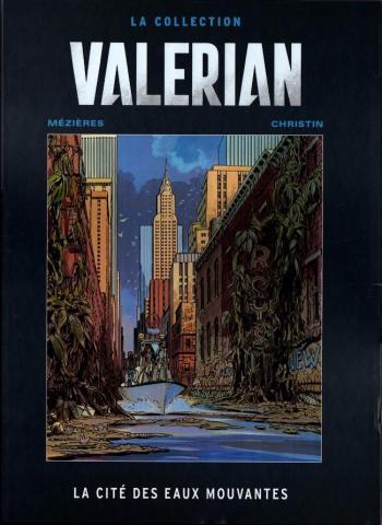 Couverture de l'album Valérian (Hachette) - 1. La cité des eaux mouvantes