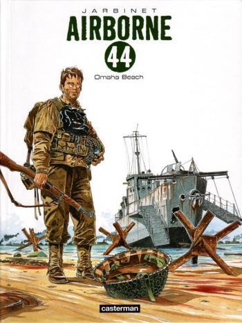 Couverture de l'album Airborne 44 - 3. Omaha Beach
