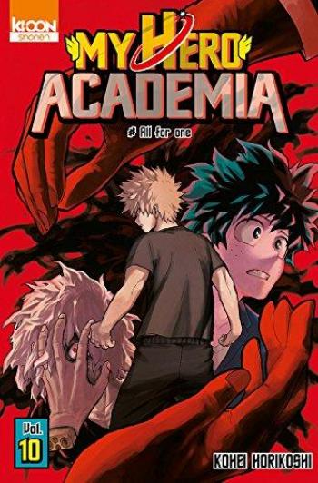 Couverture de l'album My Hero Academia - 10. All for one
