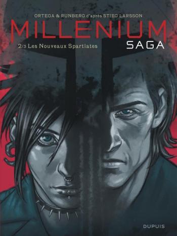 Couverture de l'album Millénium saga - 2. Les Nouveaux Spartiates