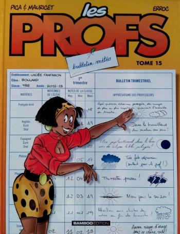 Couverture de l'album Les Profs - 15. Bulletin météo