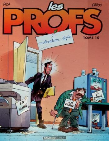 Couverture de l'album Les Profs - 10. Motivation 10/10
