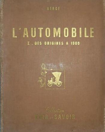 Couverture de l'album Tintin Raconte - 2. L'Automobile I - Des origines à 1900