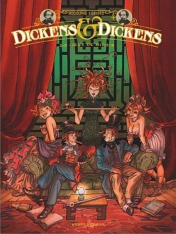 Couverture de l'album Dickens & Dickens - 2. Jeux de miroir