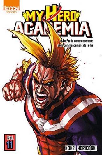 Couverture de l'album My Hero Academia - 11. La Fin du commencement et le commencement de la fin