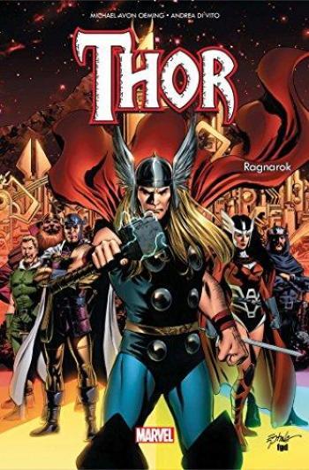 Couverture de l'album Thor : Ragnarok (100% Marvel) (One-shot)