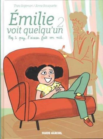 Couverture de l'album Emilie voit quelqu'un - 2. Psy à psy, l'oiseau fait son nid