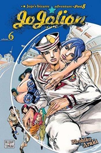 Couverture de l'album Jojo's Bizarre Adventure - Saison 8 - Jojolion - 6. Le But de Tsurugi Higashikata - L'architecte